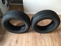 Bridgestone B250 Tyres X 2 - Half Worn £60 for both.