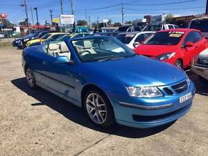 2006 Saab 9-3 AUTOMATIC 2D Convertible BLUE Lansvale Liverpool Area Preview