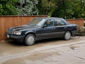 Mercedes w124 project