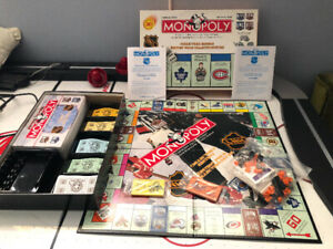 NHL Monopoly 1999 Collector' Edition
