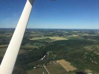 Scenic Flights along Lake Huron and inland