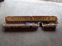 rear under seat bin