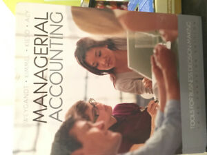 Managerial Accounting 3rd Canadian Edition