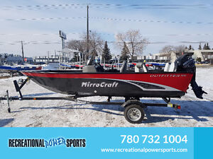2016 OUTFITTER 1616 WITH 30HP MERCURY