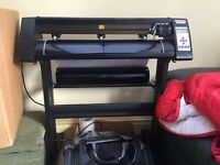 "Vinyl cutter/plotter printer machine 28"" redsail"