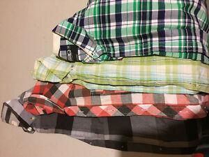 Men's dress pants, Jeans and shirts