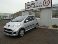 2009 PEUGEOT 107 1.0 URBAN 3D 68 BHP - 52,597 MILES - IDEAL 1ST CAR
