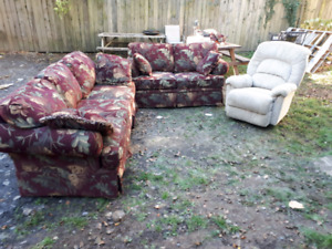 Lazy boy sofa set 350obo