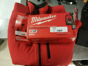 Milwaukee M12 Cordless Heated Jacket (Brand New)