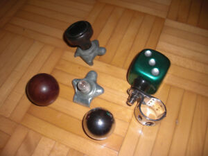 Vintage Suicide Knobs and gear jockey shifters