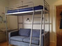IKEA bunk bed AND sofa bed