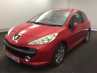 PEUGEOT 207 1.6HDI 90 SPORT >MASSIVE PRICE REDUCTION<12 MONTHS MOT..QUALITY CAR