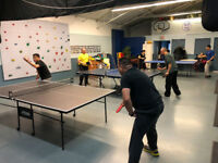 Table Tennis and Ping Pong Drop-In