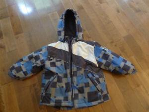 manteau d'hiver garçon 4 ans