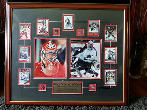Patrick Roy Framed Piece