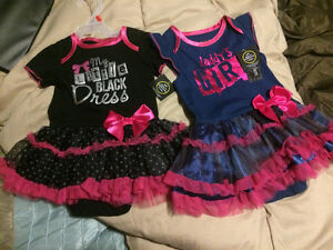 """My little black dress"" and daddy's girl NWT"