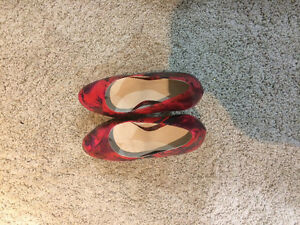 2 pairs high heels