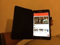 Samsung tab 4 latest version fully boxed with leather case and Samsung warranty