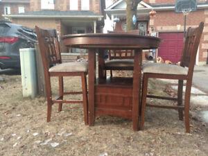 Free pub dining table