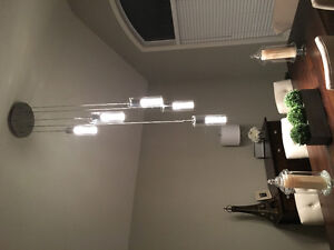 Cascading pendant light chandelier