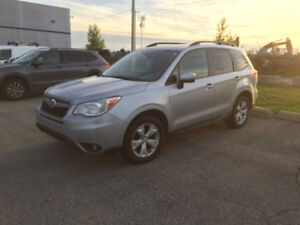 2014 Subaru Forester Touring Edition - Grey/Gris