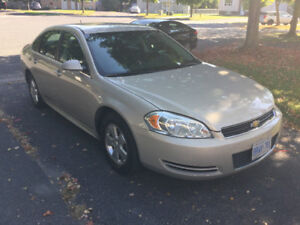 2010 Chevrolet Impala LT Safety and ETEST