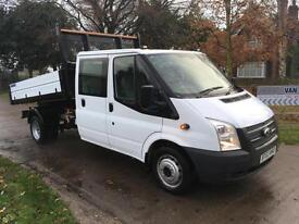 Ford Transit T350 Tipper / Double Cab / LWB