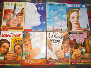 8 Andrew Clements books