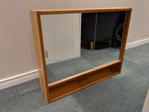 Ikea wall Mounted Sliding Mirror Medicine Cabinet