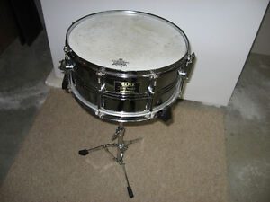 Mapex Mars snare ($70) and Mapex snare stand ($20)