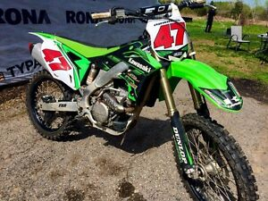 2014 KX250F (reduced, need gone)