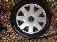 Ford Focus wheels and tyres for sale