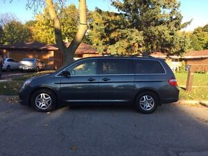 2005 Honda Odyssey EX -L, 8 Seater, Fully loaded, Tan Leather,