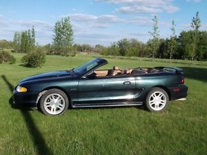 1998 Ford Mustang GT Convertible 4.6L V8 Auto