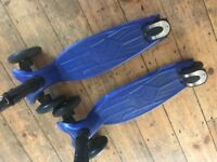 Maxi micro folding scooters deluxe £48 each