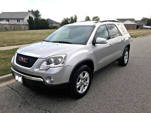 2007 GMC Acadia SLT Fully Loaded No Accident, E-tested & Safety