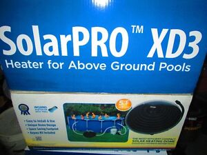Solar dome heater for above ground pool