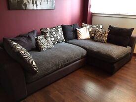 DFS Sinan Left Hand Facing Large Corner Sofa