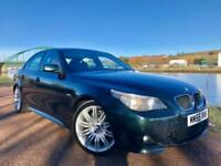 2005 55 BMW 5 SERIES 2.0 520D M SPORT 4D 161 BHP DIESEL