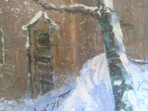 Oil on Canvas A Cmac North Shore Greater Vancouver Area image 5