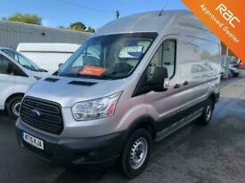 Ford Transit 2015 350 2.2TDCI 125ps L2 H3 RWD *1 Owner, Silver, Air Con*