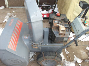 Snowblowers for sale Package deal or individually