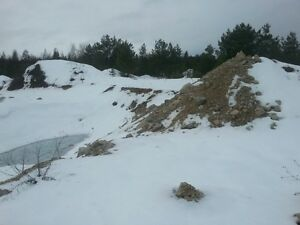 14 Acre Residential land with licensed Aggregate  gravel pit
