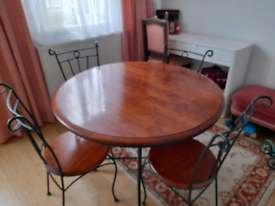 Malaysian table and chairs