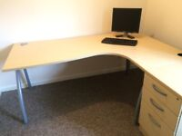 Desk and set of Drawers