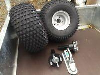 A T V quad trailer kit