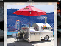 Mobile Woodburning Pizza Trailer