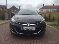 2012 Vauxhall Astra 1.6 VVT Exclusive Automatic 5dr Bluetooth 2 keys Grey