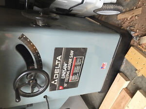 10 inch delta unisaw table saw