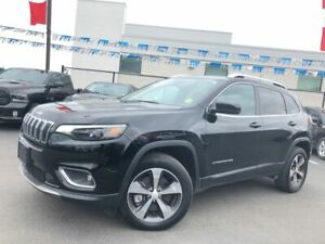 2019 Jeep Cherokee limited 4x4   apple car play   leather   back